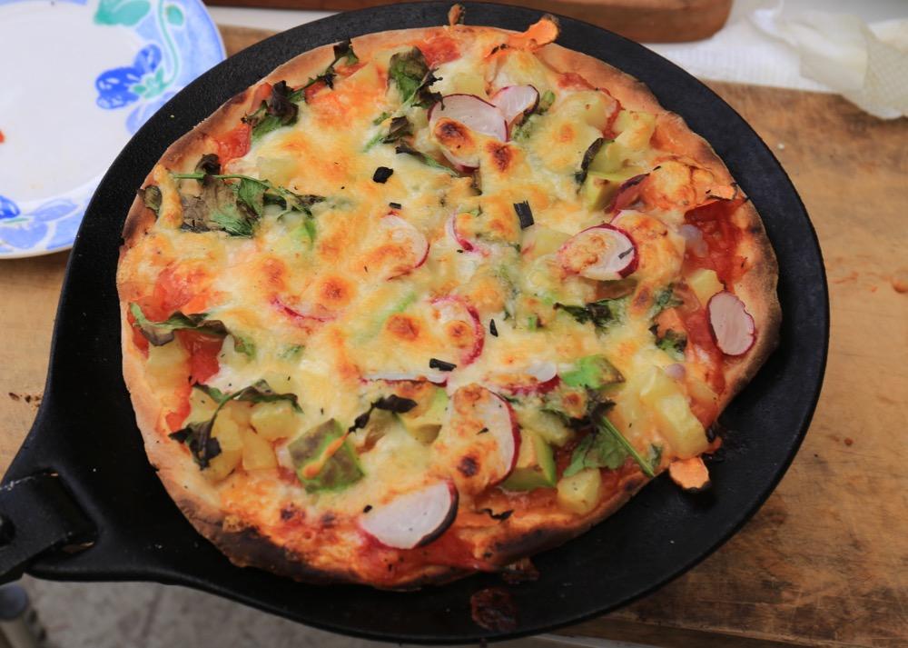 第7回は、ピザ作り&味覚の講座やります!